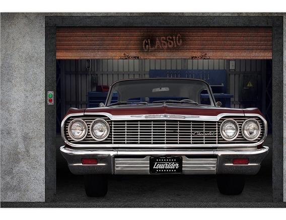 Fundo Fotográfico Tecido Garagem Clássico 2,6x1,7m - Ffc-520