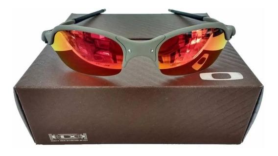 Oculos Oakley Romeo 2 X Metal Lente Ruby Penny Mars 24k Tio