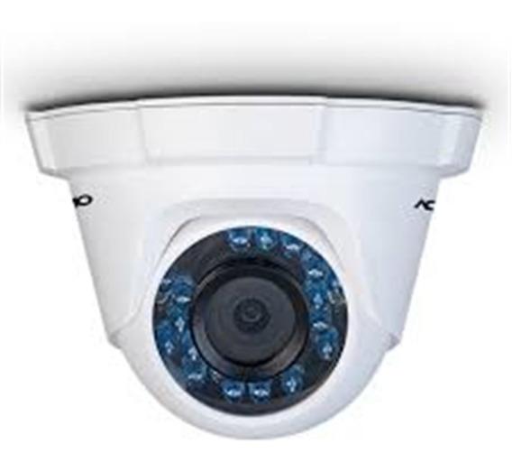 Camera Dome Tvi, Plastico 2,8mm Ir 20m 2 Megapixel - Cd-2820