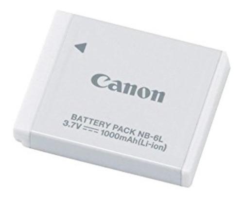 Imagem 1 de 6 de Bateria Original Canon Nb-6l 1000mah P/ Câmeras Powershot
