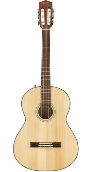 Guitarra Clásica Fender Cn60s Tapa Solida Abeto - Oddity
