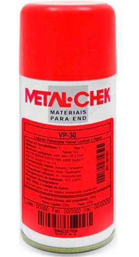 Penetrante Metal-check Vp30 - Lata  230g        Metal-check