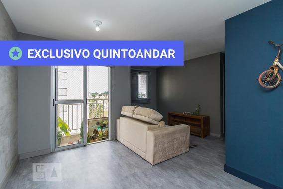 Apartamento No 7º Andar Mobiliado Com 2 Dormitórios E 1 Garagem - Id: 892980253 - 280253