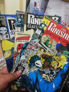 Comics Punisher Diario De Guerra Arco Completo Numeron 1 2 3