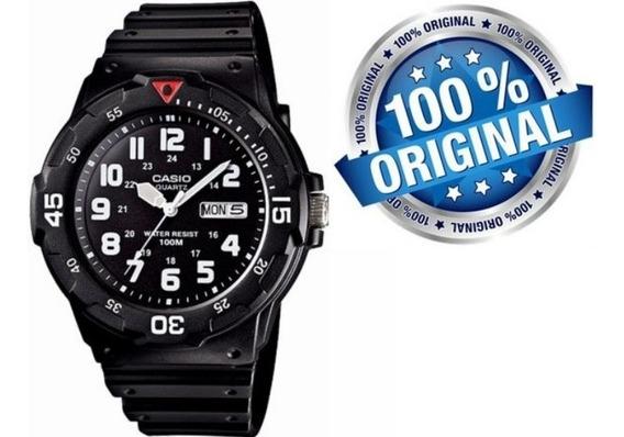 Relógio Masculino Casio 100m Analógico Quartzo Mrw-200h-1bv