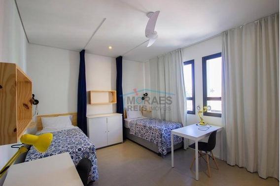 Studio Com 1 Dormitório Para Alugar, 20 M² Por R$ 1.500/mês - Santa Cecília - São Paulo/sp - St0084