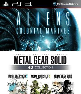 Metal Gear Solid Hd Collection + Aliens Ps3 Digital Gcp