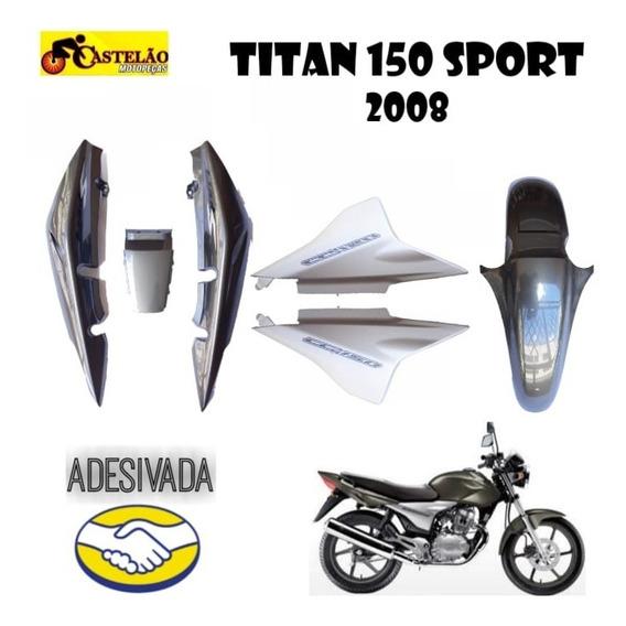 Carenagem Titan 150 Sport 2008 Cinza