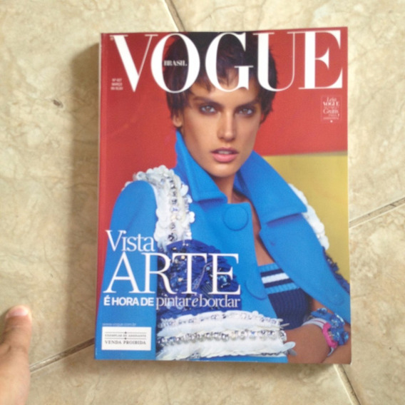 Revista Vogue Brasil 427 Mar2014 Vista Arte Pintar Bordar C2