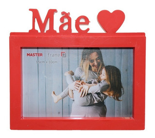 Porta Retrato De Plastico Mae Te Amo 10 X 15 Presentes