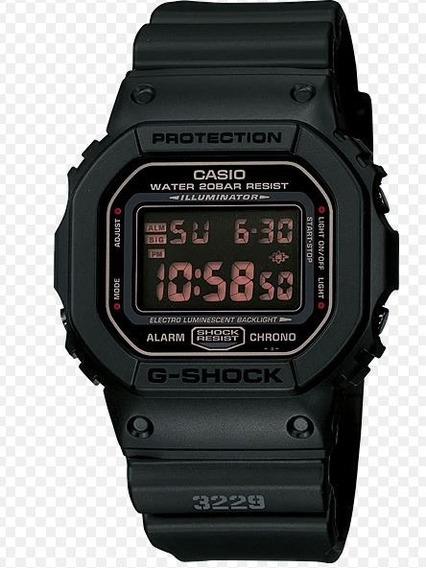 Relogio Casio Digital - G-shock Dw-5600ms-1dr (tommy,invic,b