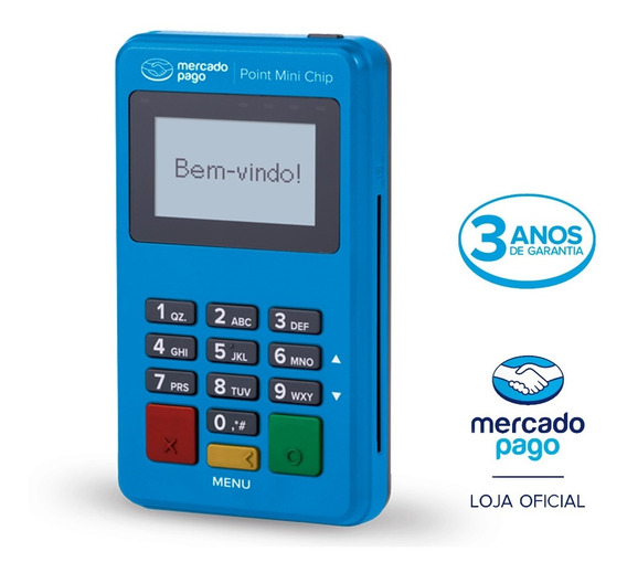 Point Mini Chip - A Máquininha De Cartão Do Mercado Pago
