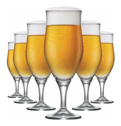Jogo De Taça Ritzenhoff Cristal Cerveja Lubzer P 260ml 6 Pcs