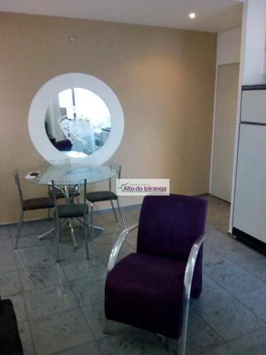 Apartamento Com 1 Dormitório Para Alugar, 41 M² Por R$ 2.800,00/mês - Bosque Da Saúde - São Paulo/sp - Ap3838