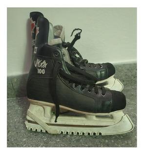 Patines Hockey Sobre Hielo Ccm Ultra Talle 39/40 Usados