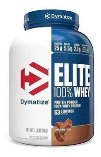 Whey Protein Elite Dymatize 5lbs 2.3kg - Validade 06/2021