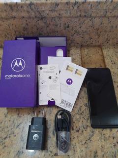 Celular Moto One Vision Novinho ...Barato Só Hoje Com Nota