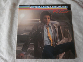 Lp Fernando Mendes 1982 Feitiço, Vinil Com Encarte Seminovo
