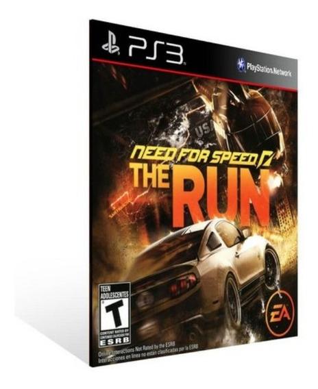 Need For Speed The Run Ps3 Psn Envio Já