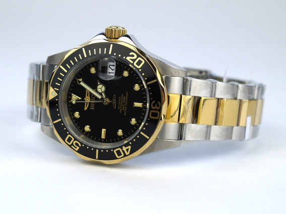 Relógio Invicta Pro Diver Automatic Gold Plated 8927