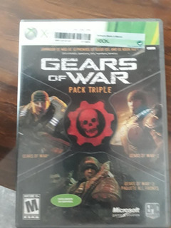 Juegos Gears Of War Triple Pack - Xbox 360