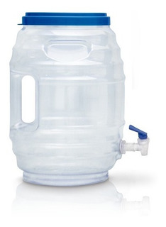 2 Dispensador Agua Fresca Vitrolero Fiesta Despachador 19 Lt