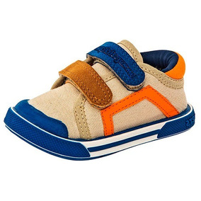 Tenis Sneaker Bubble Gummers Niños Textil Beige Dtt N30757