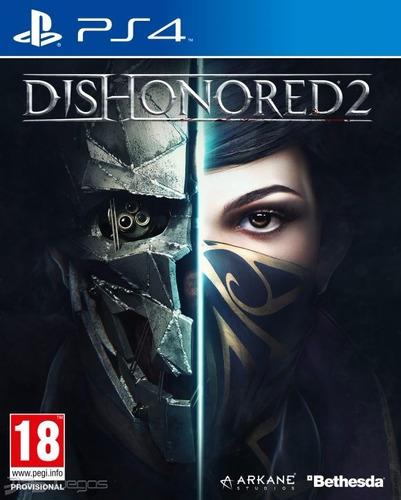 Dishonored 2 Ps4 Nuevo Fisico Sellado Original