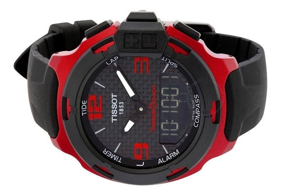 Reloj Tissot T-race Touch Rojo 42mm *jcvboutique*