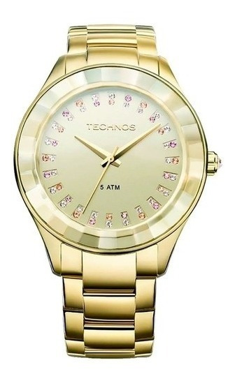 Relógio Technos Feminino Elegance Swarovski 2035ltv