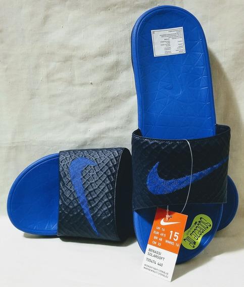 Ojotas Nike Benassi Solarsoft Talle 48 Arg 15 Us
