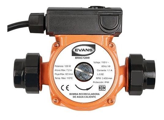 Recirculadora De Agua Caliente 120w 3 Velocidades