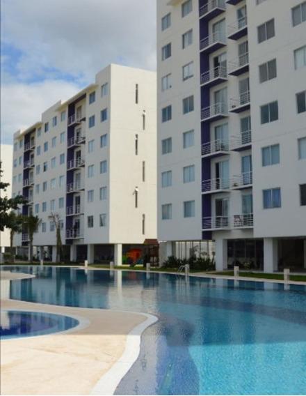 Departamento Amueblado, 2 Recamaras Y 2 Baños Completos. Habitalia Cancún