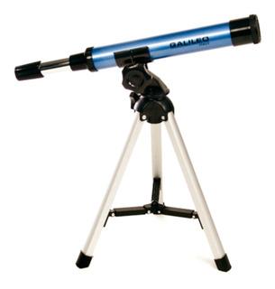 Telescopio Galileo F300x30 Refractor 30x Tripode Aluminio