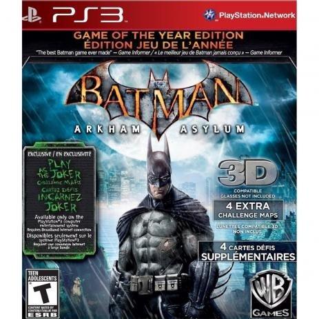 Batman Arkham Asylum Goty (mídia Física) - Ps3
