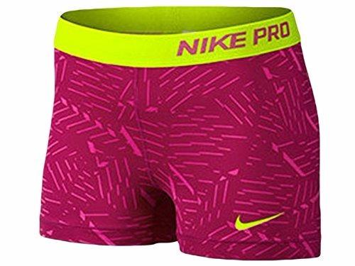 Shorts Nike Pro Bash 3 Polegadas Hot Pink Feminino Original