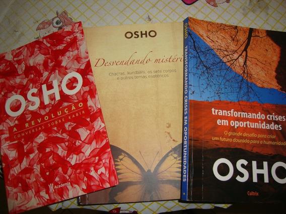3 Livros Osho ( Confira Titulos E Estado Dos Livros )