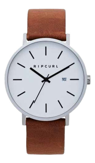 Relógio Rip Curl Mode Leather Silver
