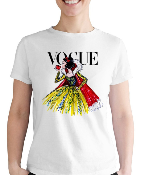 Playera Dibujo Blanca Nieves Vogue Niña Disney Princesa