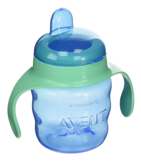 Vaso Antiderrame Con Asas 200ml +6m Avent Philips Mundomania