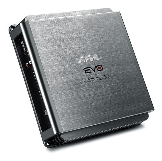 Potencia Ssl Ev1500.1 1500w Rms Monoblock Audio Auto Radio