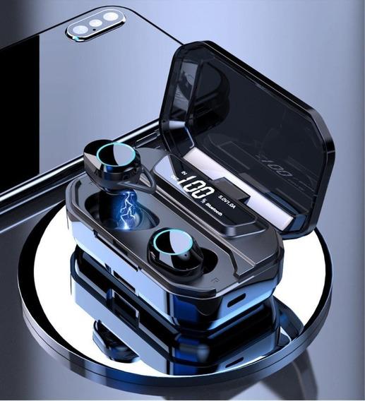 Fone De Ouvido G02 Ipx7 9d Tws 5.0 Bluetooth Estéreo Sem Fio À Prova D