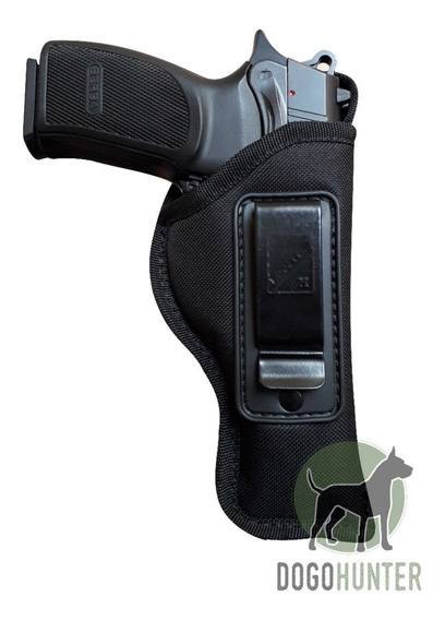 Pistolera Interna Houston Fleje Metal Bersa Tpr9 Thunder 9 Pro