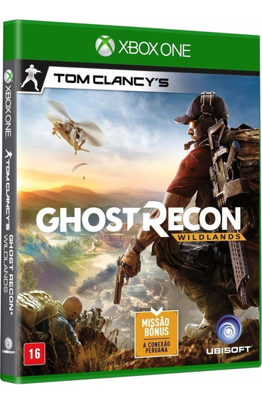 Jogo Ghost Recon Wildlands Xbox One Midia Fisica Original Br