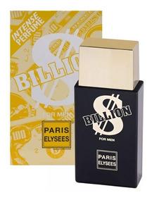 Perfume Billion $ Da Paris Elysses Masculino - 100ml