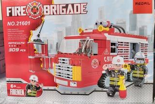 Lego Alternativo Carro De Bomberos