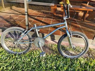 Bicicleta 20 Bmx Cromada