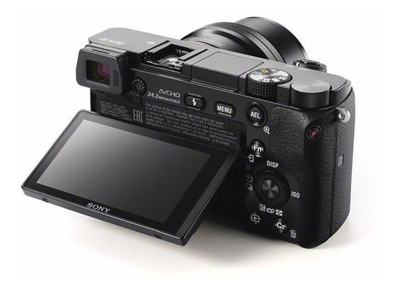 Câmera Sony Alpha A6000 Com Lente 16-50mm Mirrorless