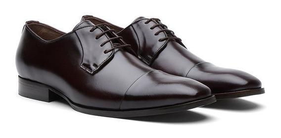 Sapato Masculino Oxford Cromo Pinhão 796 - Frete Grátis