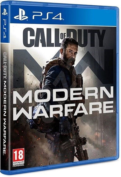 Call Of Duty Modern Warfare Ps4 Disco Fisico Novo Português